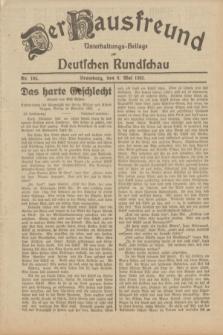 Der Hausfreund : Unterhaltungs-Beilage zur Deutschen Rundschau. 1932, Nr. 104 (8 Mai)