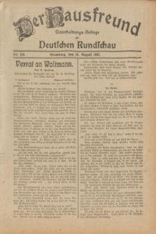 Der Hausfreund : Unterhaltungs-Beilage zur Deutschen Rundschau. 1932, Nr. 196 (28 August)