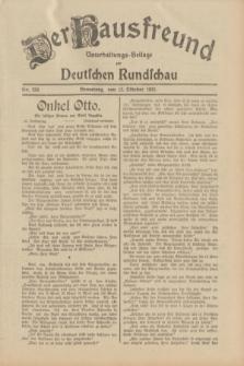 Der Hausfreund : Unterhaltungs-Beilage zur Deutschen Rundschau. 1932, Nr. 234 (12 Oktober)