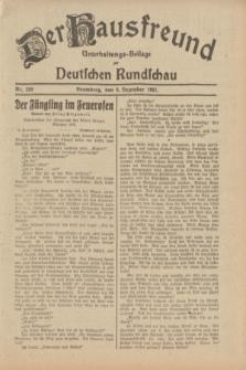 Der Hausfreund : Unterhaltungs-Beilage zur Deutschen Rundschau. 1932, Nr. 280 (6 Dezember)