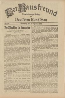 Der Hausfreund : Unterhaltungs-Beilage zur Deutschen Rundschau. 1932, Nr. 282 (8 Dezember)