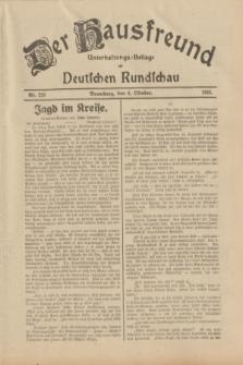 Der Hausfreund : Unterhaltungs-Beilage zur Deutschen Rundschau. 1933, Nr. 229 (6 Oktober)