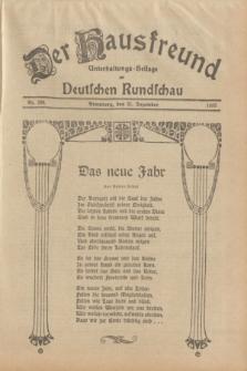 Der Hausfreund : Unterhaltungs-Beilage zur Deutschen Rundschau. 1933, Nr. 299 (31 Dezember)