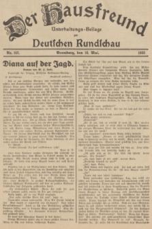 Der Hausfreund : Unterhaltungs-Beilage zur Deutschen Rundschau. 1935, Nr. 107 (10 Mai)