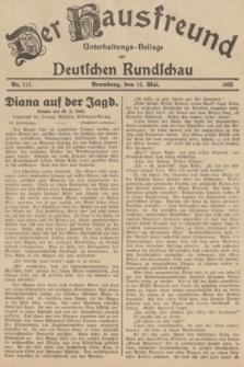 Der Hausfreund : Unterhaltungs-Beilage zur Deutschen Rundschau. 1935, Nr. 111 (15 Mai)