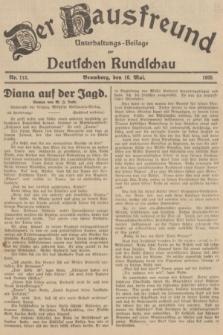 Der Hausfreund : Unterhaltungs-Beilage zur Deutschen Rundschau. 1935, Nr. 112 (16 Mai)