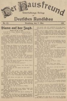 Der Hausfreund : Unterhaltungs-Beilage zur Deutschen Rundschau. 1935, Nr. 113 (17 Mai)