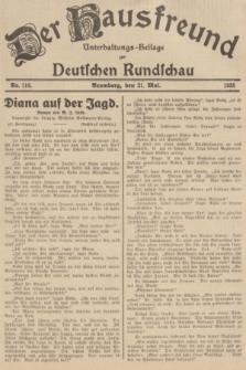 Der Hausfreund : Unterhaltungs-Beilage zur Deutschen Rundschau. 1935, Nr. 116 (21 Mai)