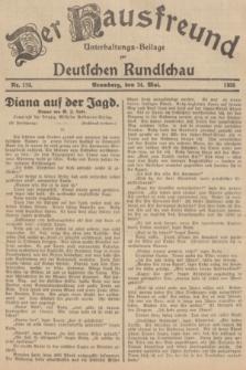 Der Hausfreund : Unterhaltungs-Beilage zur Deutschen Rundschau. 1935, Nr. 119 (24 Mai)