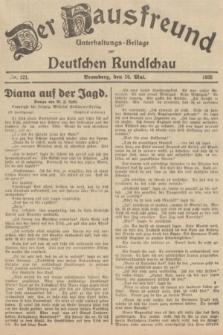 Der Hausfreund : Unterhaltungs-Beilage zur Deutschen Rundschau. 1935, Nr. 121 (26 Mai)