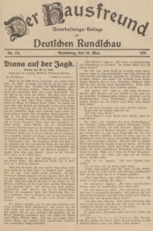 Der Hausfreund : Unterhaltungs-Beilage zur Deutschen Rundschau. 1935, Nr. 124 (30 Mai)