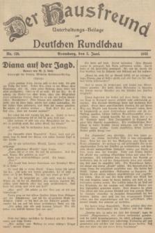 Der Hausfreund : Unterhaltungs-Beilage zur Deutschen Rundschau. 1935, Nr. 126 (2 Juni)