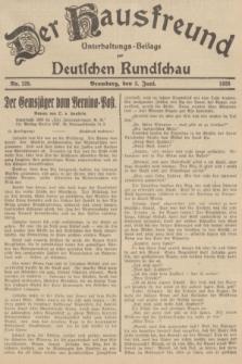 Der Hausfreund : Unterhaltungs-Beilage zur Deutschen Rundschau. 1935, Nr. 128 (5 Juni)