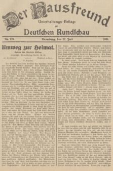 Der Hausfreund : Unterhaltungs-Beilage zur Deutschen Rundschau. 1935, Nr. 170 (27 Juli)