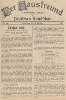 Der Hausfreund : Unterhaltungs-Beilage zur Deutschen Rundschau. 1935, Nr. 236 (13 Oktober)