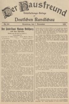 Der Hausfreund : Unterhaltungs-Beilage zur Deutschen Rundschau. 1935, Nr. 256 (7 November)