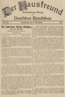 Der Hausfreund : Unterhaltungs-Beilage zur Deutschen Rundschau. 1935, Nr. 257 (8 November)