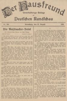 Der Hausfreund : Unterhaltungs-Beilage zur Deutschen Rundschau. 1936, Nr. 194 (23 August)