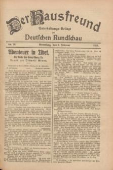 Der Hausfreund : Unterhaltungs-Beilage zur Deutschen Rundschau. 1928, Nr. 30 (8 Februar)