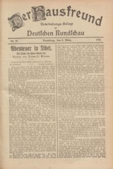 Der Hausfreund : Unterhaltungs-Beilage zur Deutschen Rundschau. 1928, Nr. 46 (2 März)