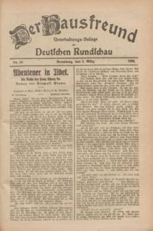 Der Hausfreund : Unterhaltungs-Beilage zur Deutschen Rundschau. 1928, Nr. 50 (8 März)