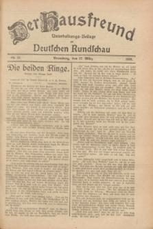 Der Hausfreund : Unterhaltungs-Beilage zur Deutschen Rundschau. 1928, Nr. 57 (17 März)