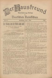Der Hausfreund : Unterhaltungs-Beilage zur Deutschen Rundschau. 1928, Nr. 91 (2 Mai)