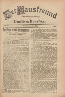 Der Hausfreund : Unterhaltungs-Beilage zur Deutschen Rundschau. 1928, Nr. 93 (5 Mai)