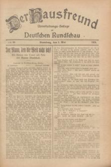 Der Hausfreund : Unterhaltungs-Beilage zur Deutschen Rundschau. 1928, Nr. 95 (8 Mai)
