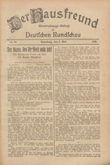 Der Hausfreund : Unterhaltungs-Beilage zur Deutschen Rundschau. 1928, Nr. 96 (9 Mai)