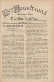 Der Hausfreund : Unterhaltungs-Beilage zur Deutschen Rundschau. 1928, Nr. 119 (9 Juni)