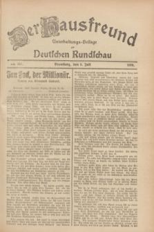 Der Hausfreund : Unterhaltungs-Beilage zur Deutschen Rundschau. 1928, Nr. 141 (8 Juli)