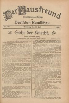 Der Hausfreund : Unterhaltungs-Beilage zur Deutschen Rundschau. 1928, Nr. 150 (19 Juli)