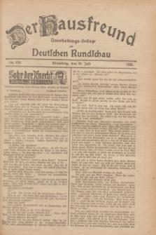 Der Hausfreund : Unterhaltungs-Beilage zur Deutschen Rundschau. 1928, Nr. 159 (29 Juli)