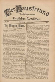Der Hausfreund : Unterhaltungs-Beilage zur Deutschen Rundschau. 1928, Nr. 233 (25 October)
