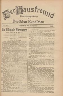Der Hausfreund : Unterhaltungs-Beilage zur Deutschen Rundschau. 1928, Nr. 267 (6 Dezember)