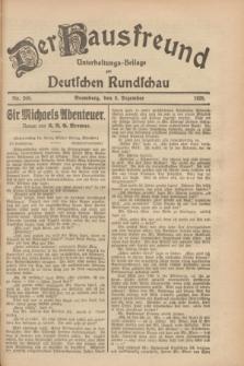 Der Hausfreund : Unterhaltungs-Beilage zur Deutschen Rundschau. 1928, Nr. 269 (8 Dezember)