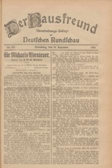 Der Hausfreund : Unterhaltungs-Beilage zur Deutschen Rundschau. 1928, Nr. 275 (16 Dezember)