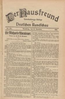 Der Hausfreund : Unterhaltungs-Beilage zur Deutschen Rundschau. 1928, Nr. 285 (30 Dezember)