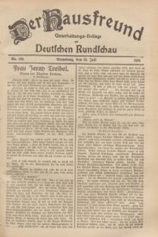 Der Hausfreund : Unterhaltungs-Beilage zur Deutschen Rundschau. 1929, Nr. 168 (26 Juli)