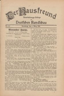 Der Hausfreund : Unterhaltungs-Beilage zur Deutschen Rundschau. 1930, Nr. 52 (4 März)