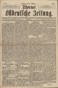 Thorner Ostdeutsche Zeitung. 1887, № 37 (13 Februar)