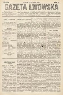 Gazeta Lwowska. 1889, nr284