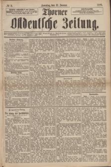 Thorner Ostdeutsche Zeitung. 1889, № 11 (13 Januar)