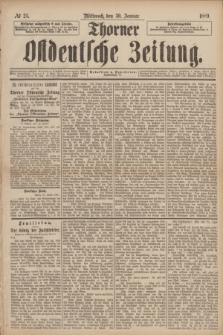 Thorner Ostdeutsche Zeitung. 1889, № 25 (30 Januar)