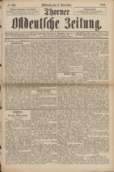 Thorner Ostdeutsche Zeitung. 1889, № 260 (6 November)