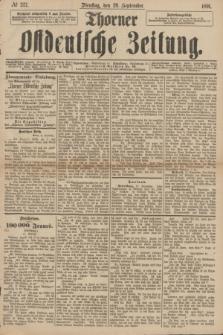 Thorner Ostdeutsche Zeitung. 1891, № 227 (29 September)