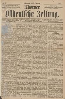 Thorner Ostdeutsche Zeitung. 1897, № 8 (10 Januar) + dod.