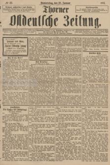 Thorner Ostdeutsche Zeitung. 1897, № 23 (28 Januar)
