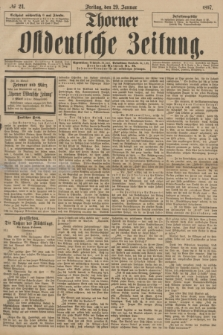 Thorner Ostdeutsche Zeitung. 1897, № 24 (29 Januar)